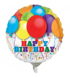 1 pc. Birthday Round Mylar Balloon