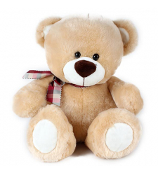 "Lucky 8"" inch Brown Teddy Bear"