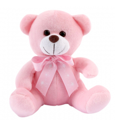 "8"" Inch Pink Teddy Bear"