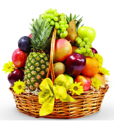 Natural Fresh Fruit Basket