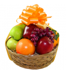 Basket of fresh fruits Basket