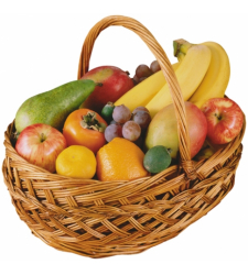 Get Well Soon Fruit Basket