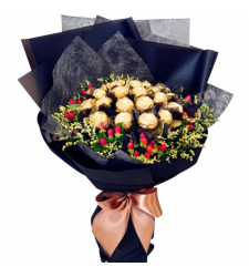 16 Pcs Ferrero Chocolates Bouquet