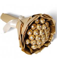 24 Pcs of Ferrero Rocher Chocolates Bouquet
