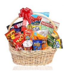Sports Snacks Gift Basket