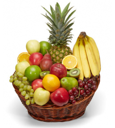 Flower Fruit Arrangements Online Order to Cebu Philippines