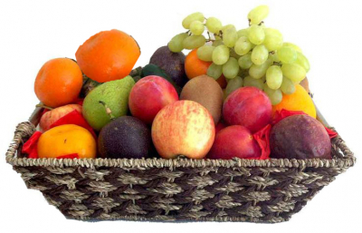 Elegant Fruit Basket Online Order to Cebu