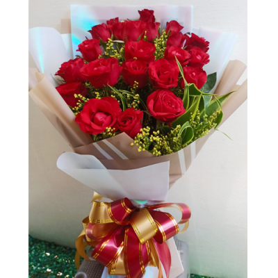 send beautiful bunch of 24 red roses to cebu