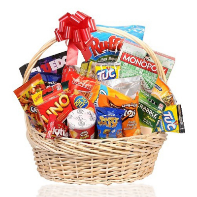 send sports snacks basket to cebu