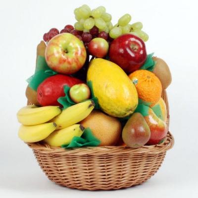 Send Flower with Seasonal Fruit Online Order to Cebu Philippines