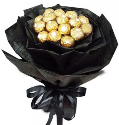 12 Pcs of Ferrero Rocher Chocolates Bouquet